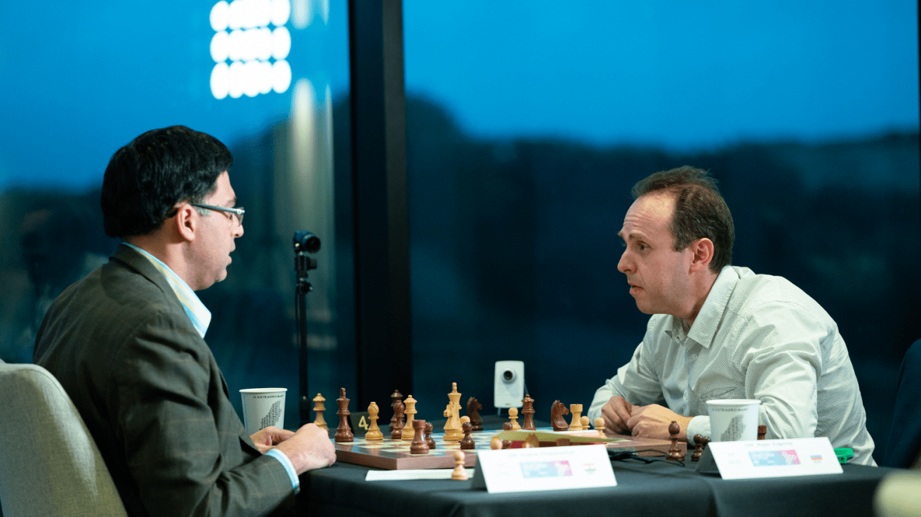 Большая швейцарка ФИДЕ и Chess.com: Наер ставит мат Ананду