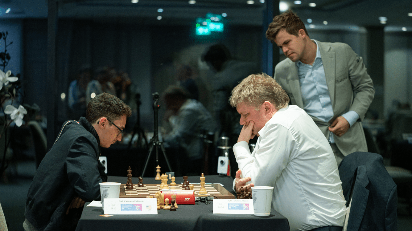 FIDE Chess.com Grand Swiss: Caruana, Wang Hao Still Perfect