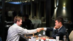 Caruana, Wang Hao Lead FIDE Chess.com Grand Swiss At Half