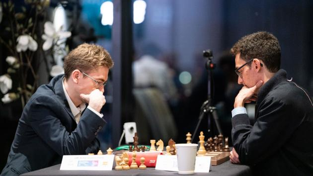 FIDE Chess.com Grand Swiss: Caruana Sole Leader; Candidates' Spot Up For Grabs