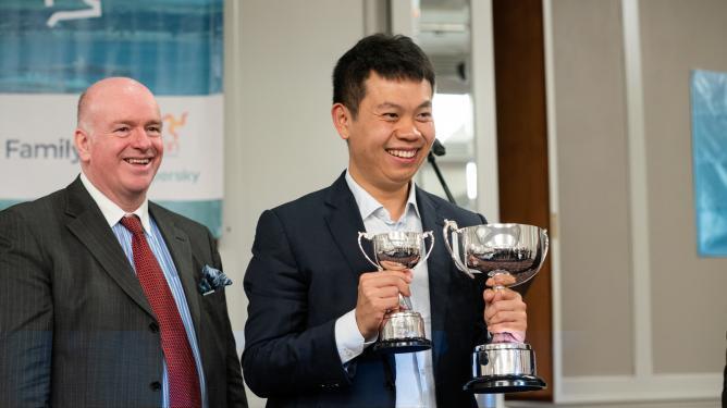 Wang Hao, vainqueur surprise de l'open Isle of Man, s'invite aux Candidats !