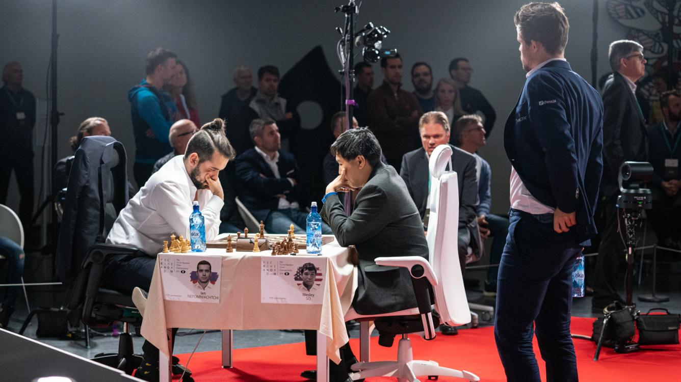 Today: Carlsen To Play So For Fischer Random World Championship