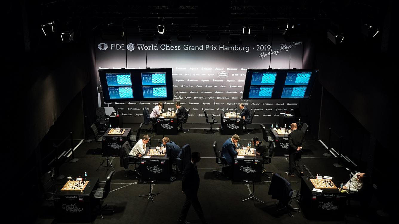 4 Winners At Hamburg FIDE Grand Prix 1st Day