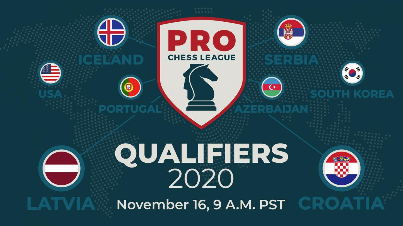 Today: 2020 PRO Chess League Qualifiers