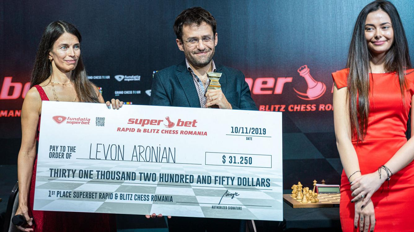 Aronian Wins Superbet Rapid & Blitz In Playoff