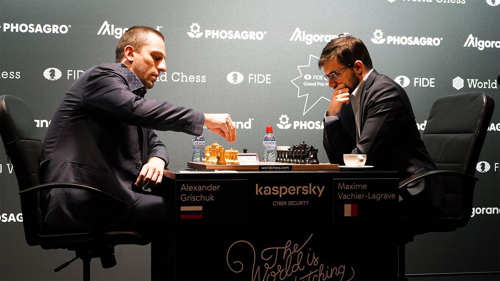 Hamburg Grand Prix: Grischuk Eliminates Vachier-Lagrave - Chess.com