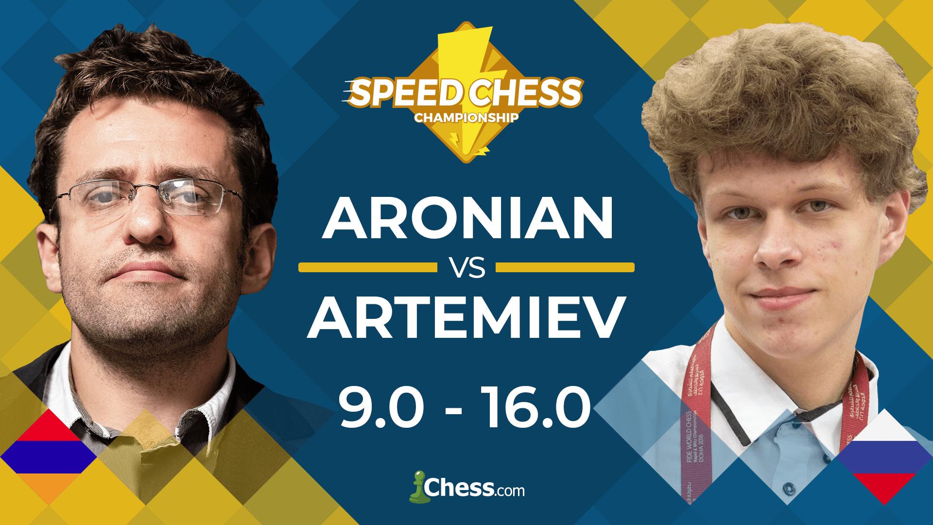 Artemiev Beats Aronian In Speed Chess Quarterfinals - Chess.com