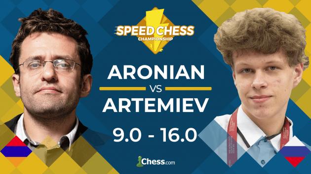 Artemiev Beats Aronian In Speed Chess Quarterfinals