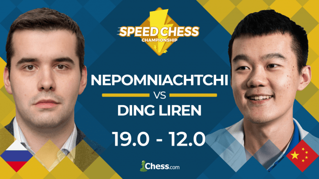Nepomniachtchi Beats Ding In Speed Chess Quarterfinal