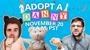 Adopt-A-Danny Raises $1,700 For Adoption Charity