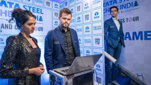 Tata Steel Rapid & Blitz: Carlsen Cruises; London Bid Possible For Anand