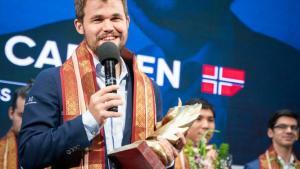 Carlsen gewinnt das Tata Steel Rapid & Blitz in Kalkutta