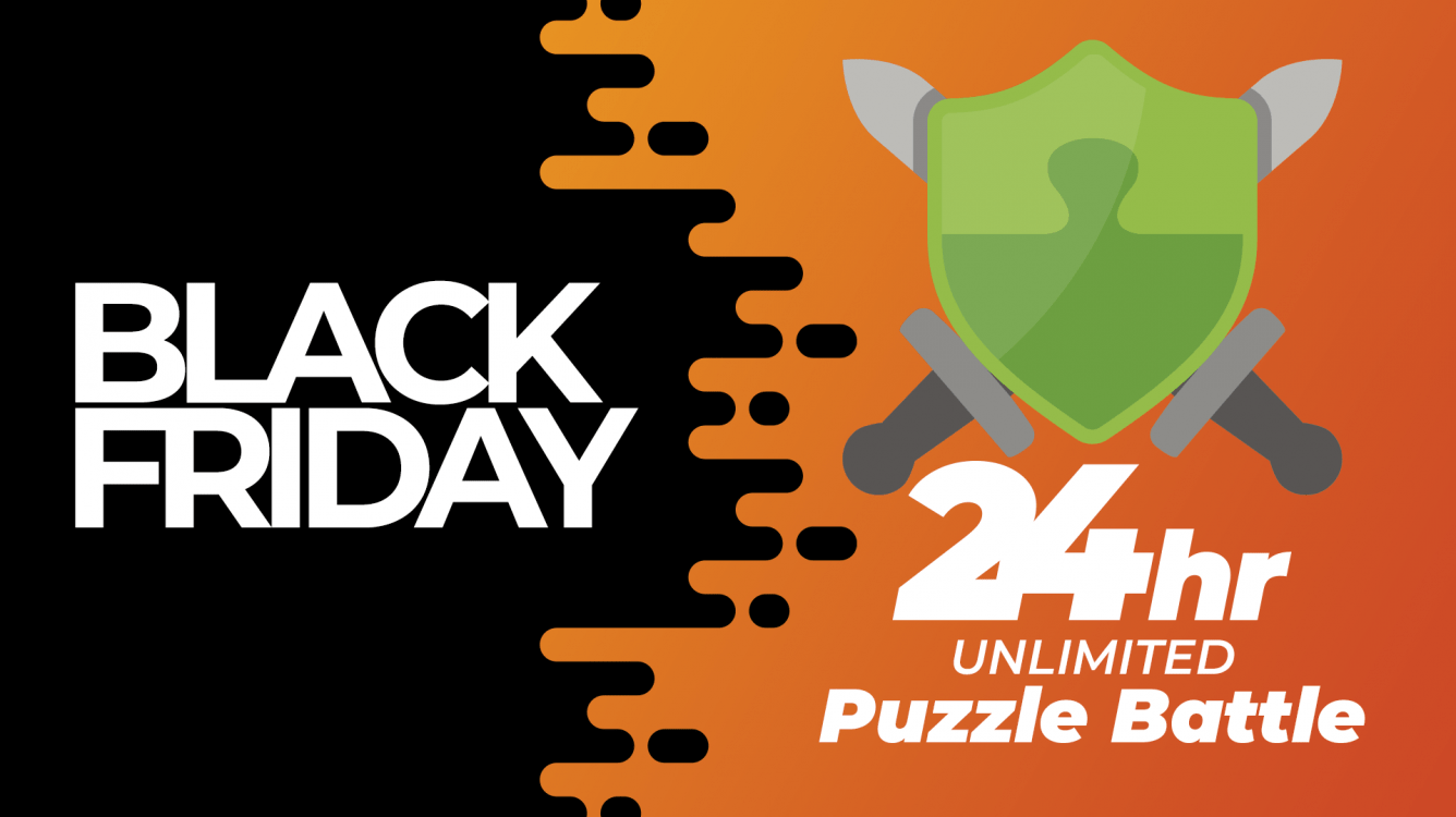 Play 24 Hours Of Free Puzzle Battle For Black Friday