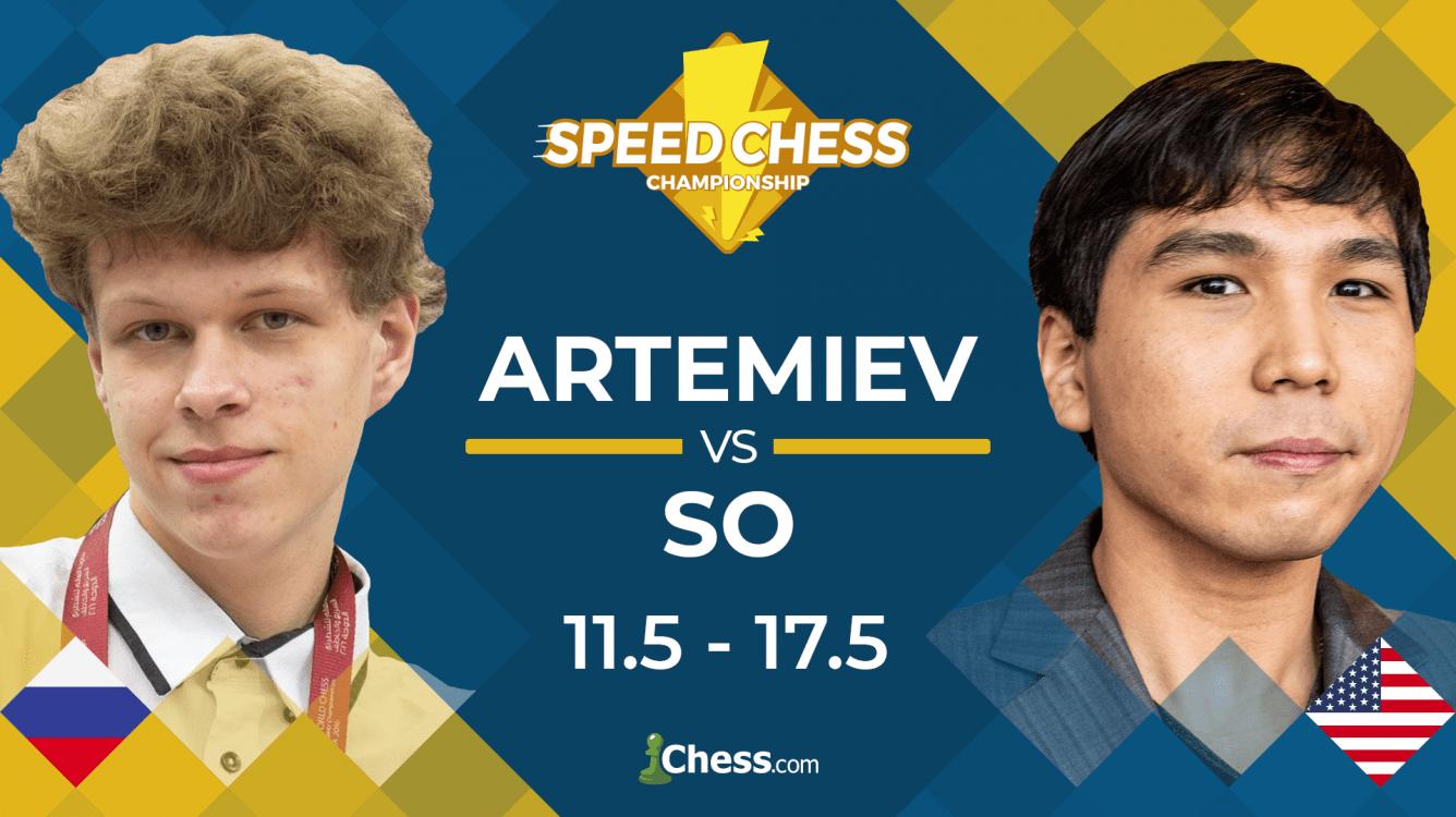 So Beats Artemiev, Reaches Speed Chess Final