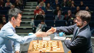 Grand Chess Tour Finals: Ding Beats MVL, Carlsen's Streak Continues