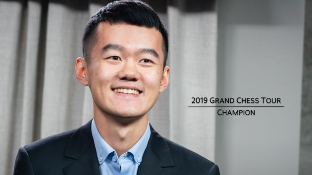 Ding Liren Wins 2019 Grand Chess Tour