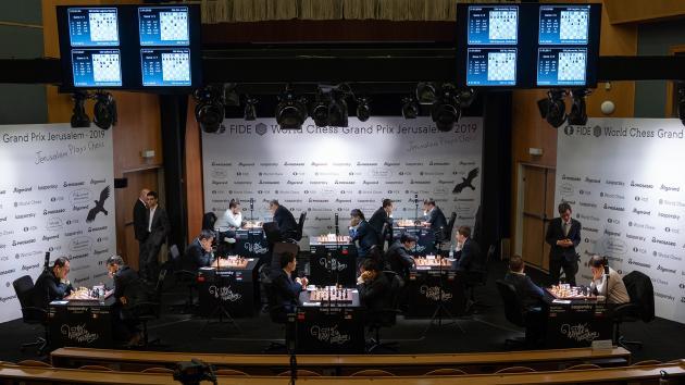 FIDE Grand Prix Final Leg Begins In Jerusalem