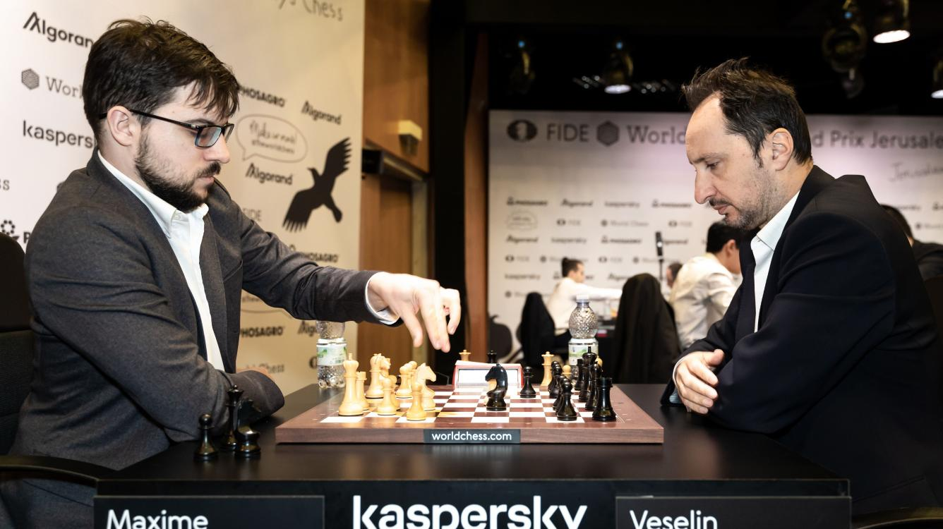 Vachier-Lagrave, Nepomniachtchi Advance In Jerusalem, Mamedyarov Out Of The Candidates