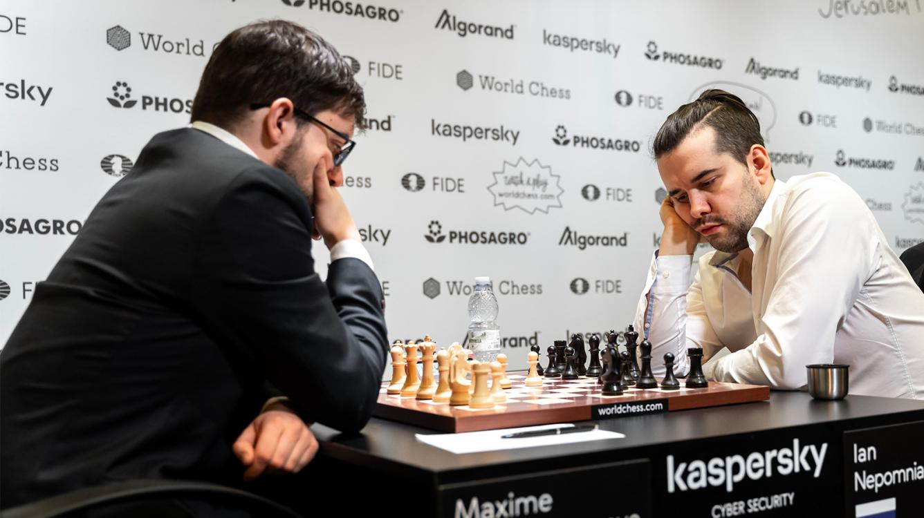 Jerusalem Grand Prix: Nepomniachtchi Knocks Out MVL