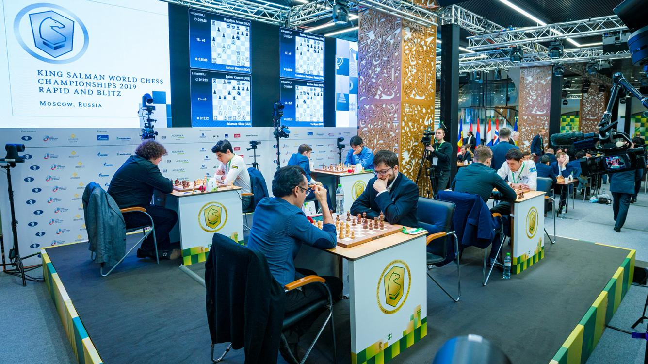 Carlsen, MVL Chasing Leaders After World Rapid Chess Championship Day 1