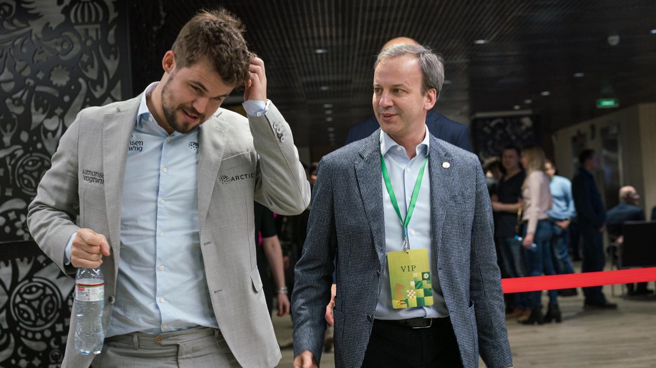 Carlsen Leads On World Blitz Chess Championship Day 1
