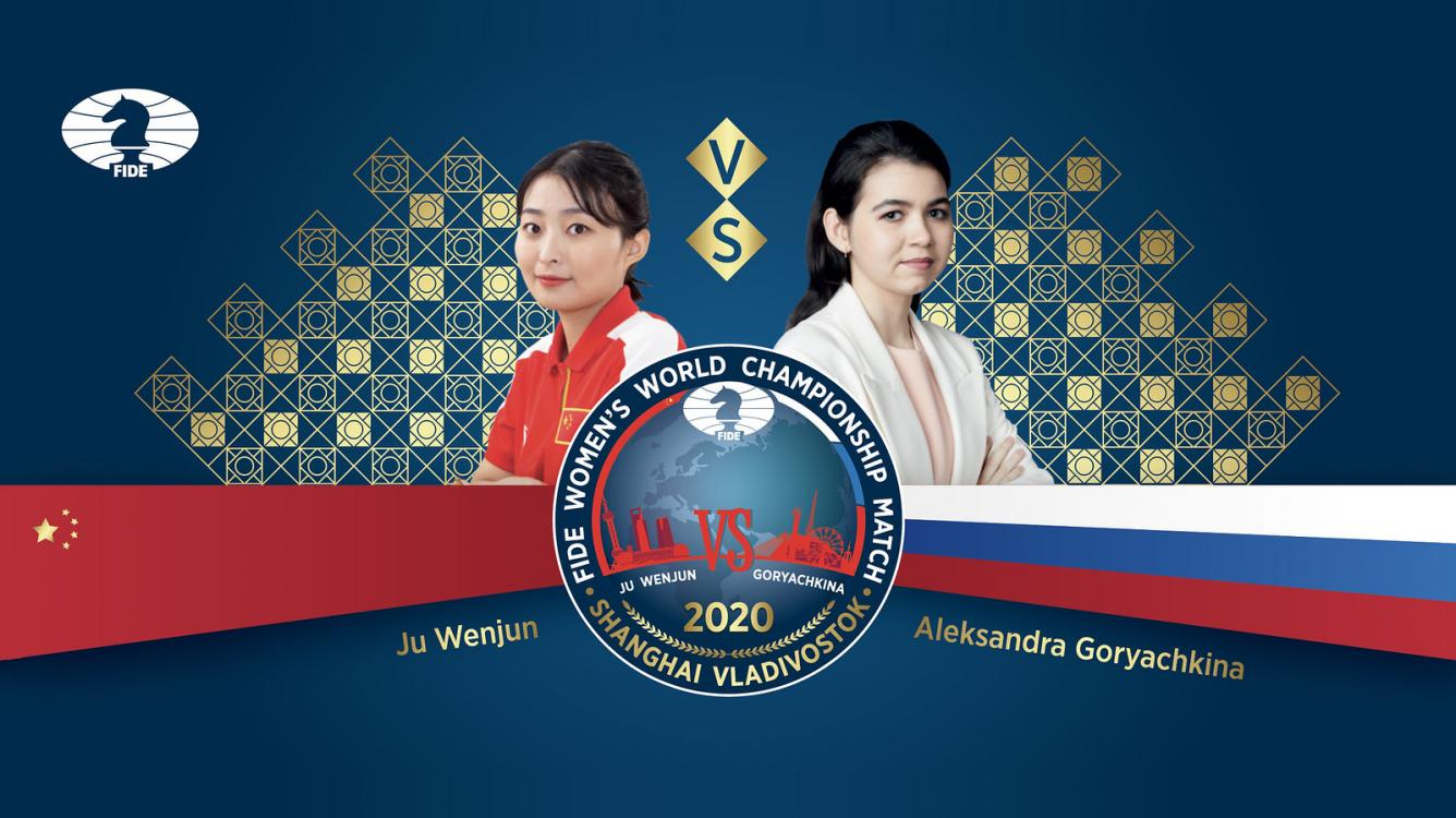 Ju Wenjun-Goryachkina Women's World Chess Championship Starts Sunday