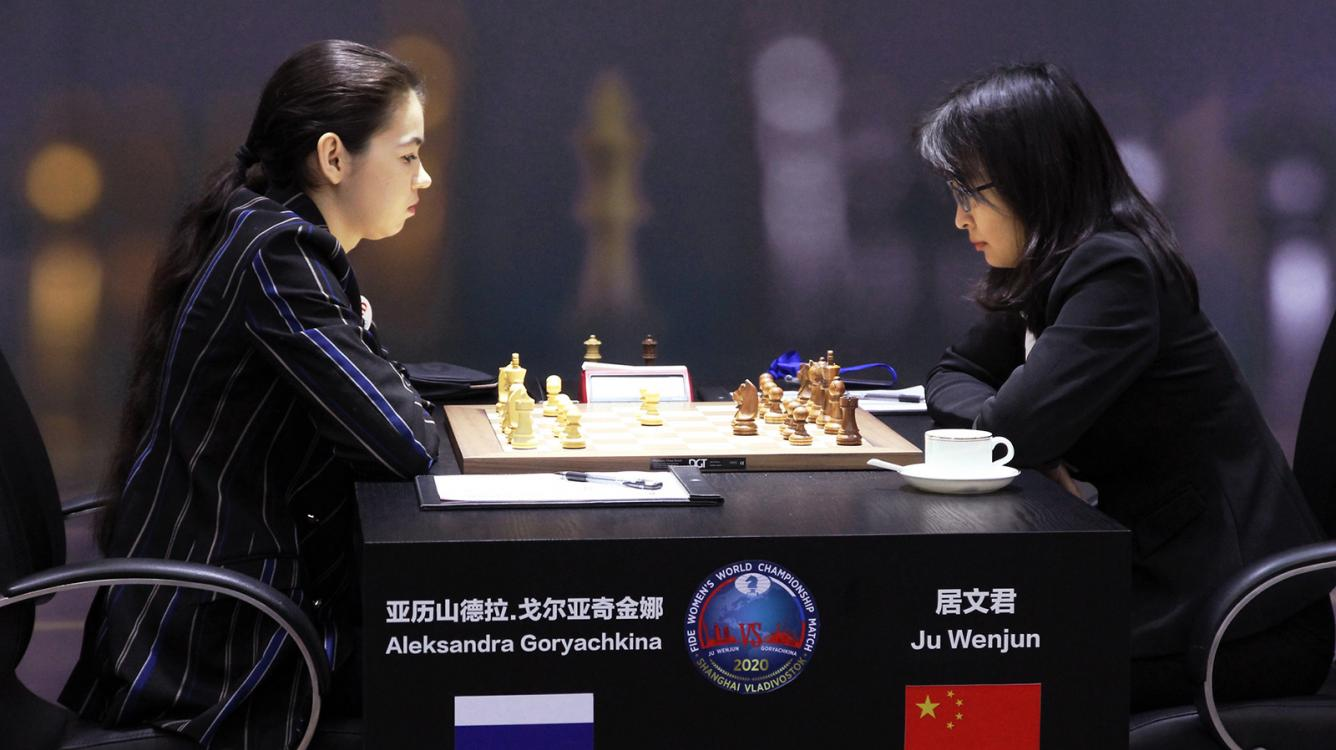 FIDE Women's World Chess Championship Starts With Draws