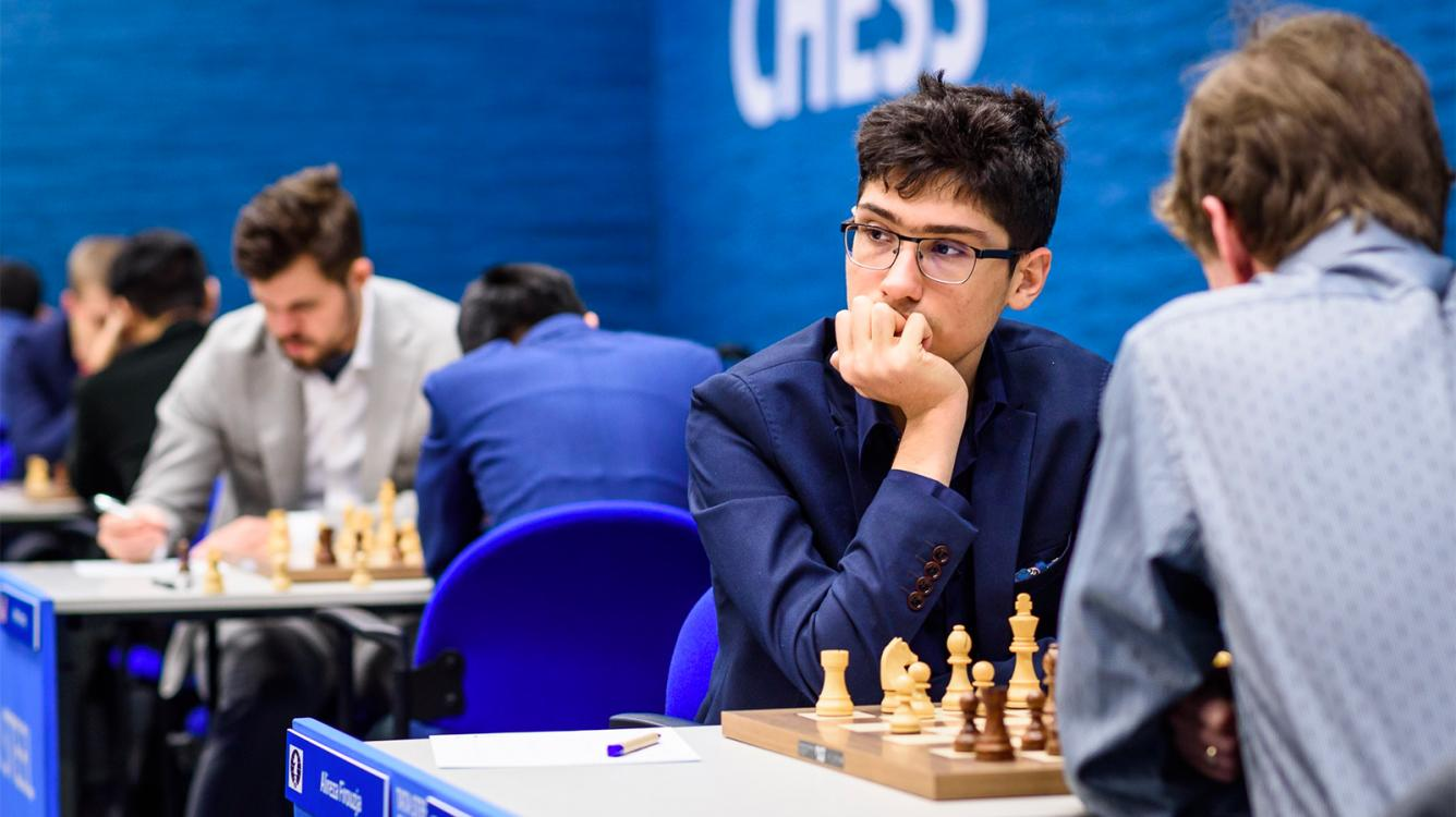 Firouzja Grabs Sole Lead On Tata Steel Chess Day 3
