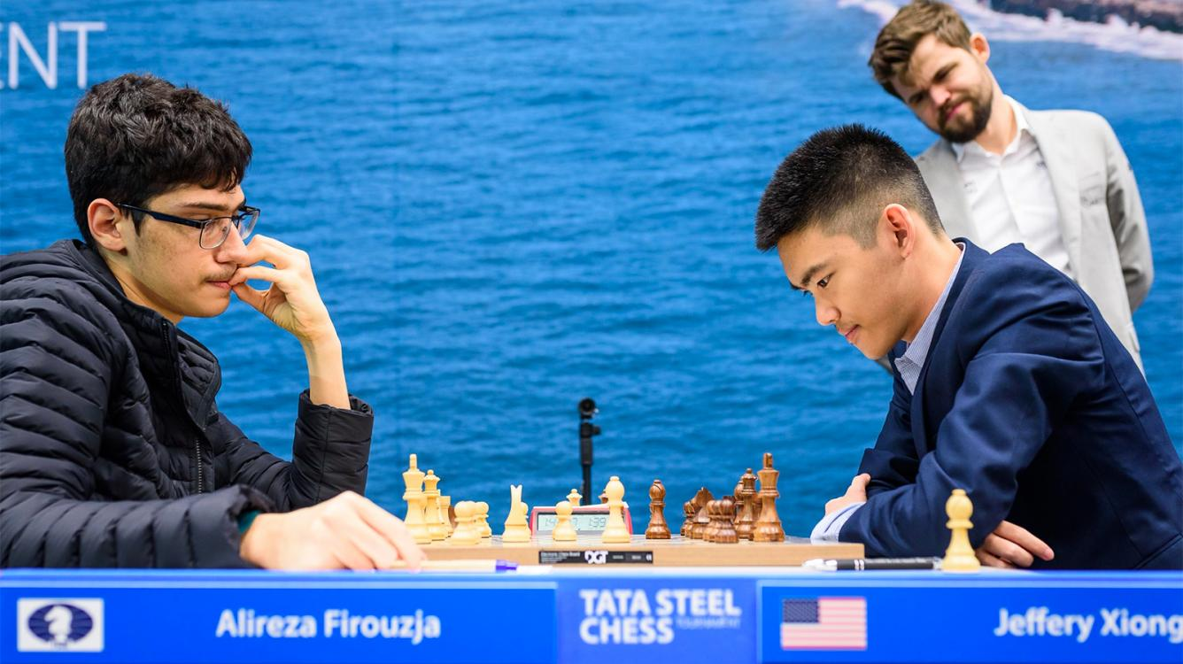 Firouzja Regains Lead At Tata Steel Chess