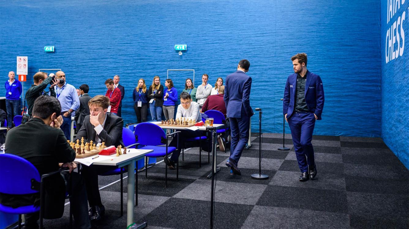 Tata Steel Chess: Caruana Catches Firouzja, Carlsen Breaks Deadlock