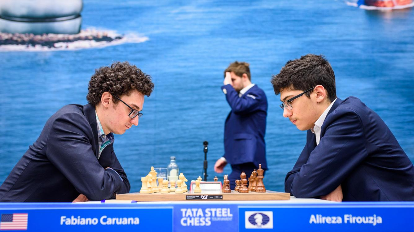 Tata Steel Chess: Caruana Keeps Lead, Carlsen Close Behind