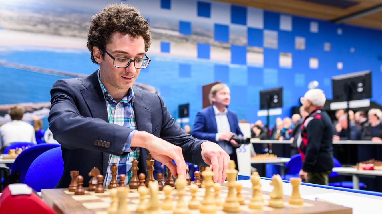 Caruana Closing In On Carlsen In Feb. Ratings