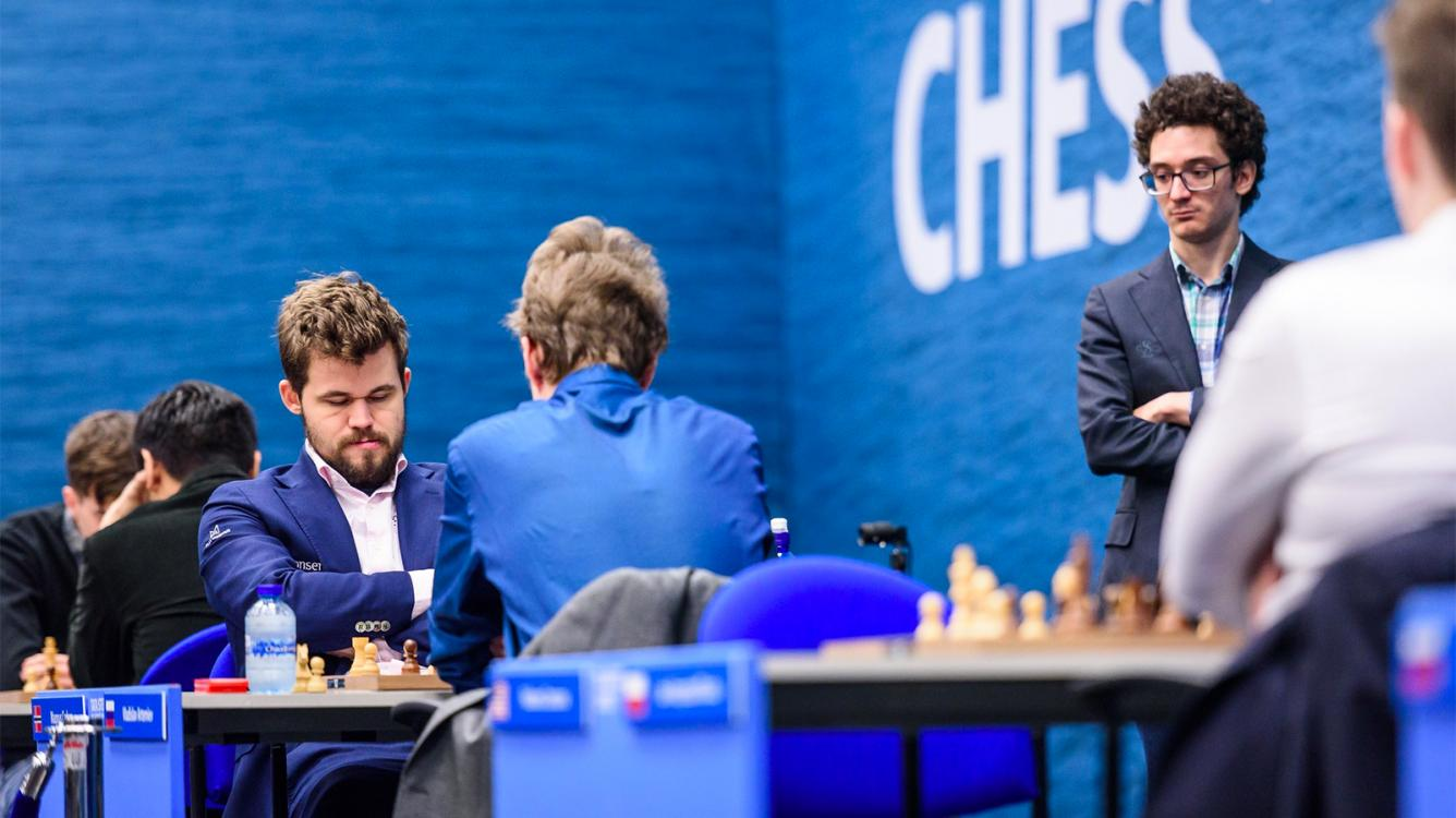 Caruana Wins Tata Steel Chess With Round To Spare Chess Com