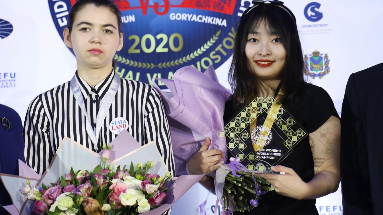 주 원준(Ju Wenjun), 여자 세계 챔피언 타이틀 방어 성공