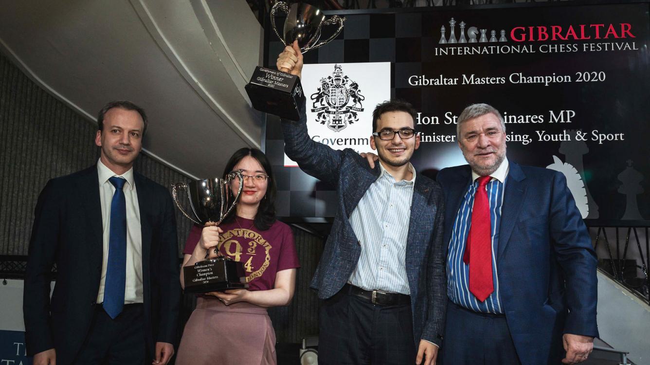 David Paravyan y Tan Zhongyi vencedores en Gibraltar