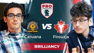 Firouzja Wins PRO Chess Masterpiece vs Caruana: Week 5 Highlights