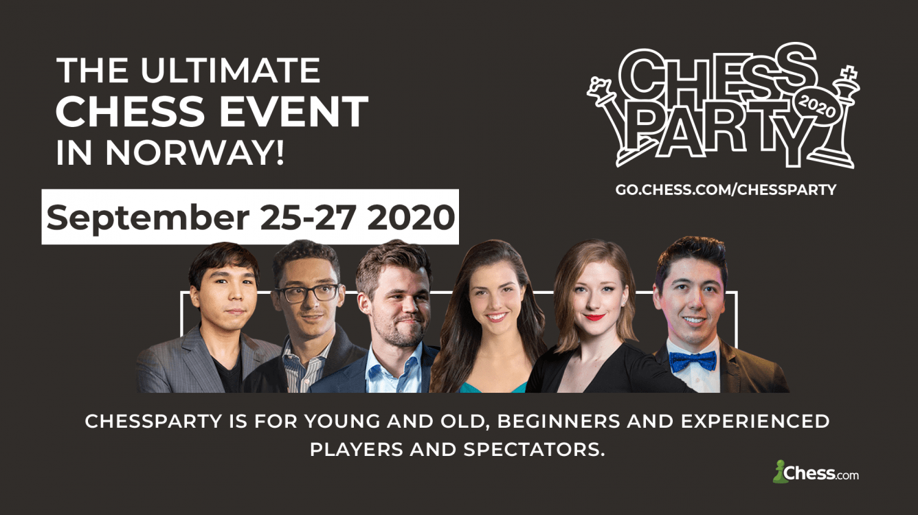 Chess.com To Partner With ChessParty For Live PRO Chess League Finals In Norway