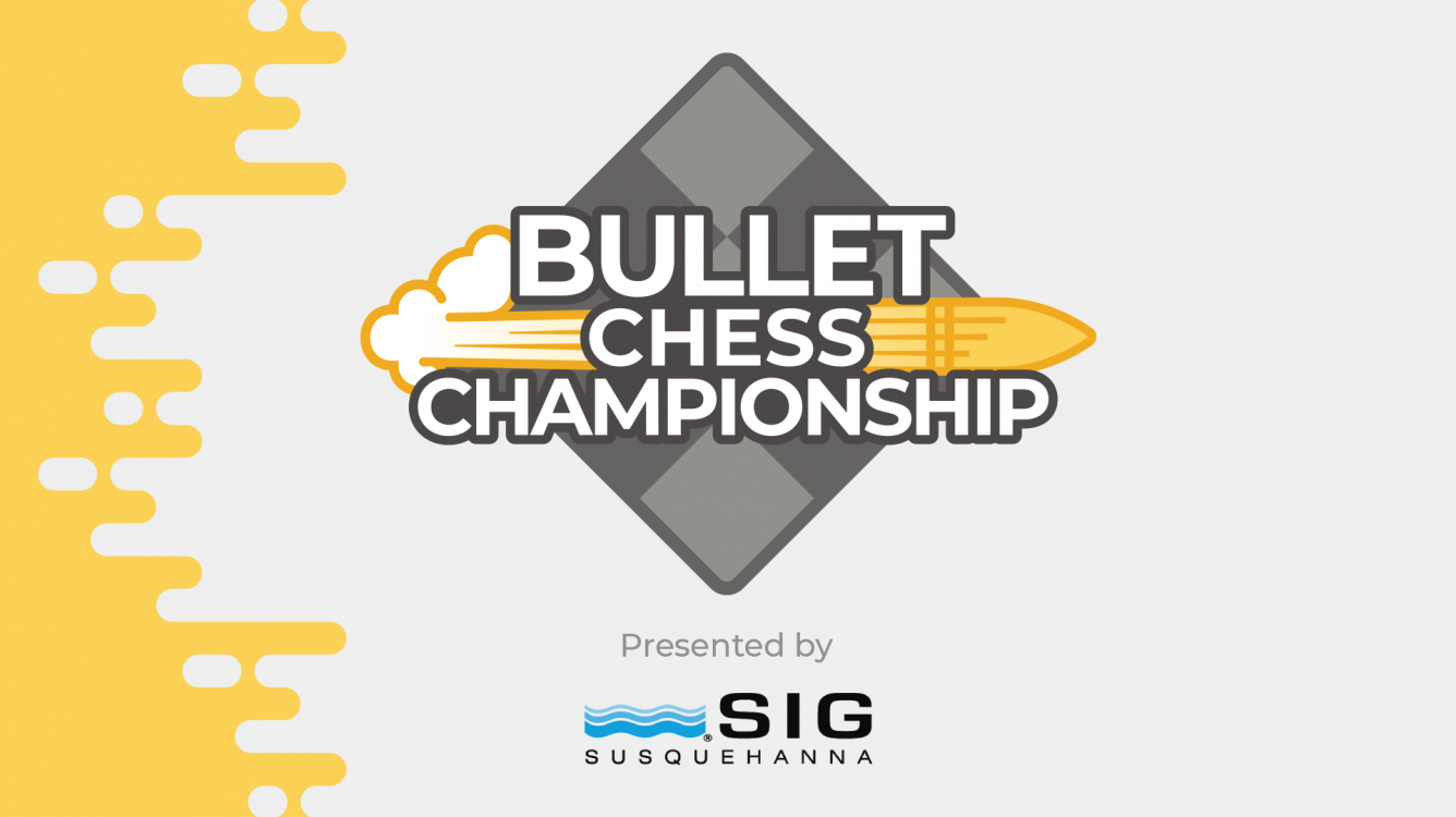 Chess.com Partners With SIG Trading For 2020 Bullet Chess Championship