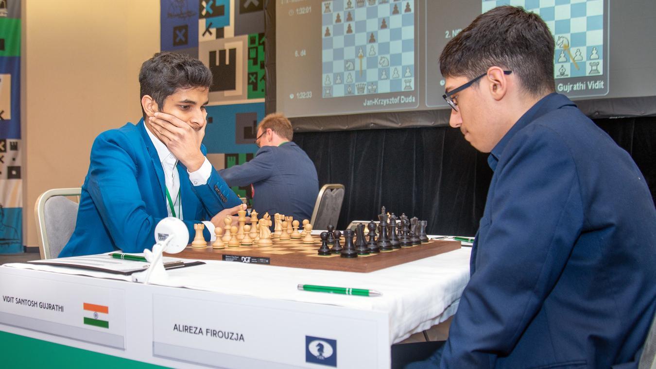 Prague Chess Festival R5: Vidit Beats Firouzja, Increases Lead