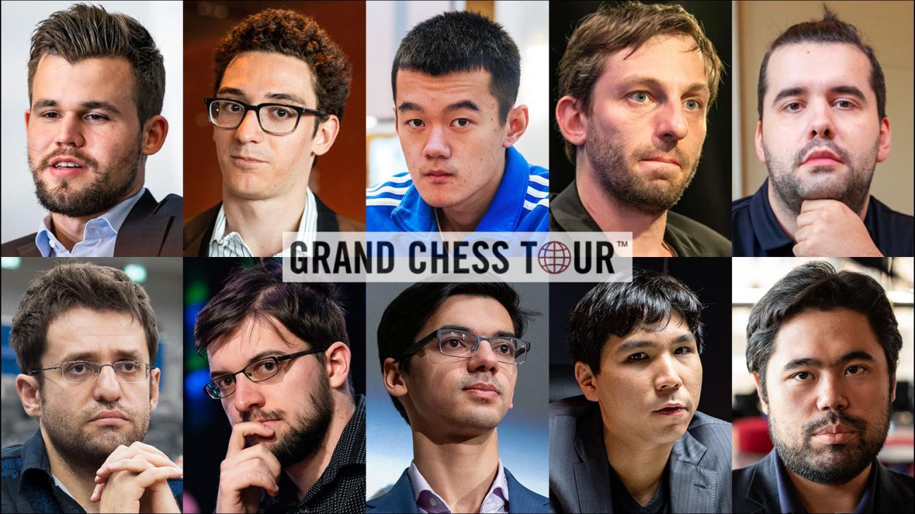 Carlsen Lidera a Lista do Grand Chess Tour, Todos os Convidados Confirmam