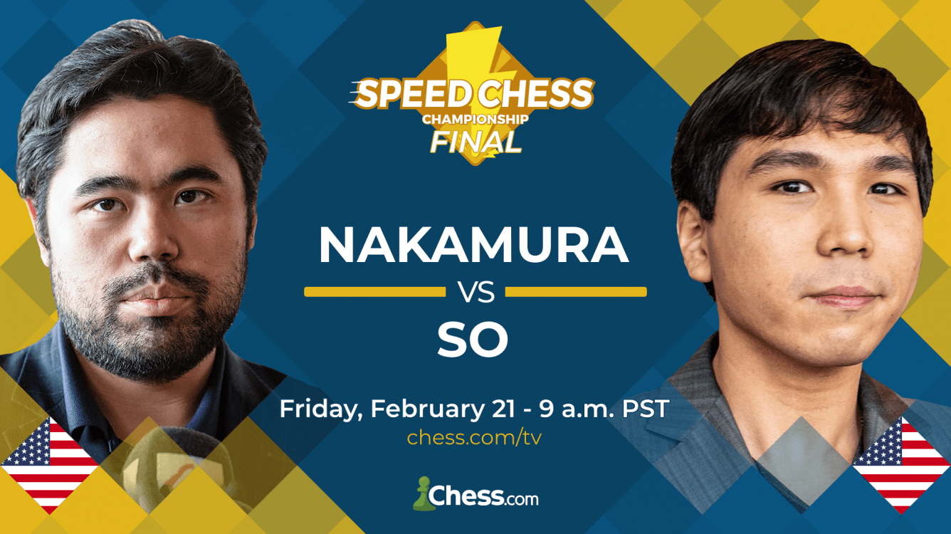 Nakamura, So Clash Friday In Speed Chess Championship Rematch