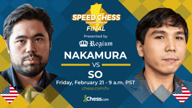 Heute um 18 Uhr steigt das Finale der Speed Chess Championship