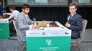 Prague Chess Festival R8: Vidit Loses Won Game, Still Leads