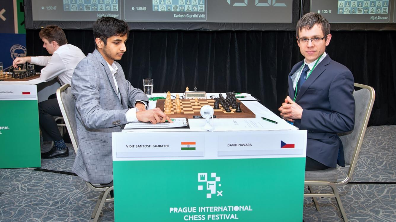 Prague Chess Festival R8: Vidit Loses Won Game, Still Leads