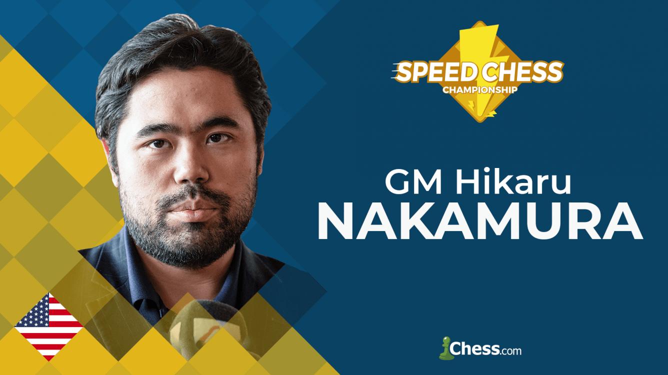 Hikaru Nakamura gana el Speed Chess Championship 2019