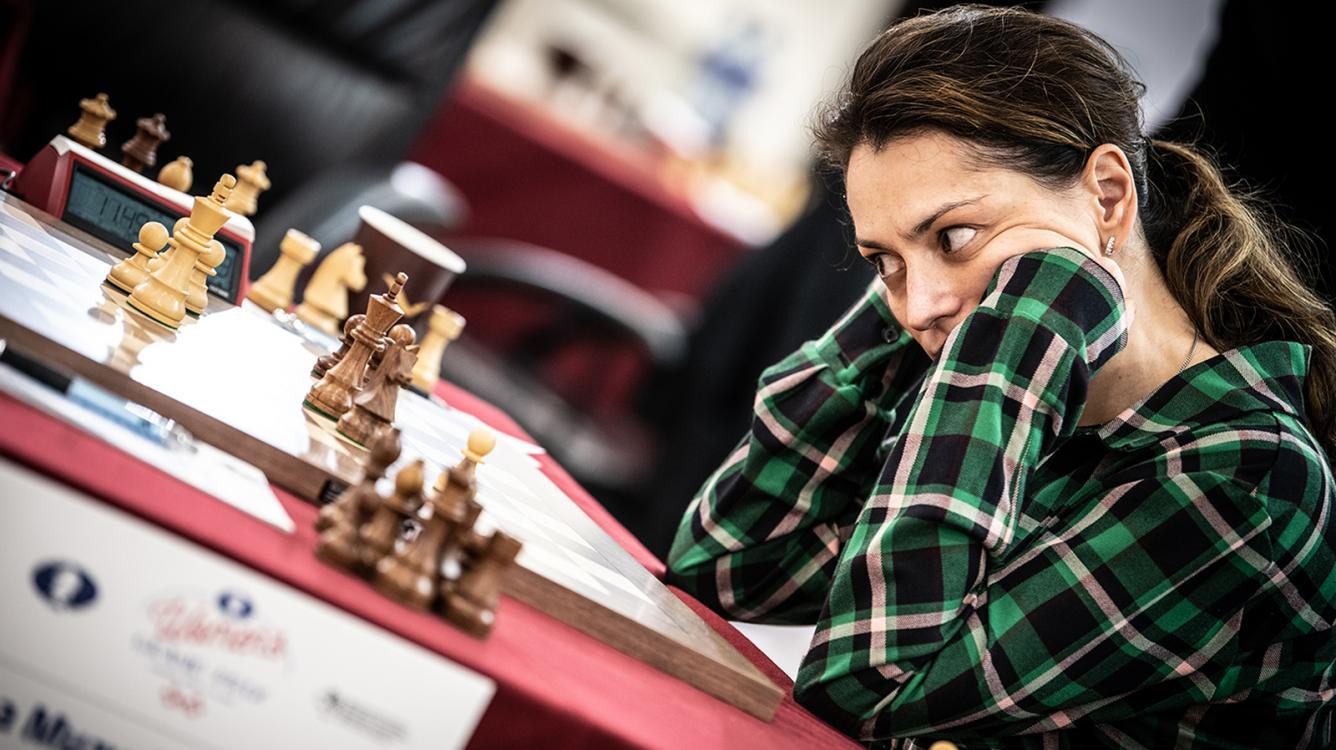 Lausanne Women's Grand Prix Day 7: Kosteniuk Struggling