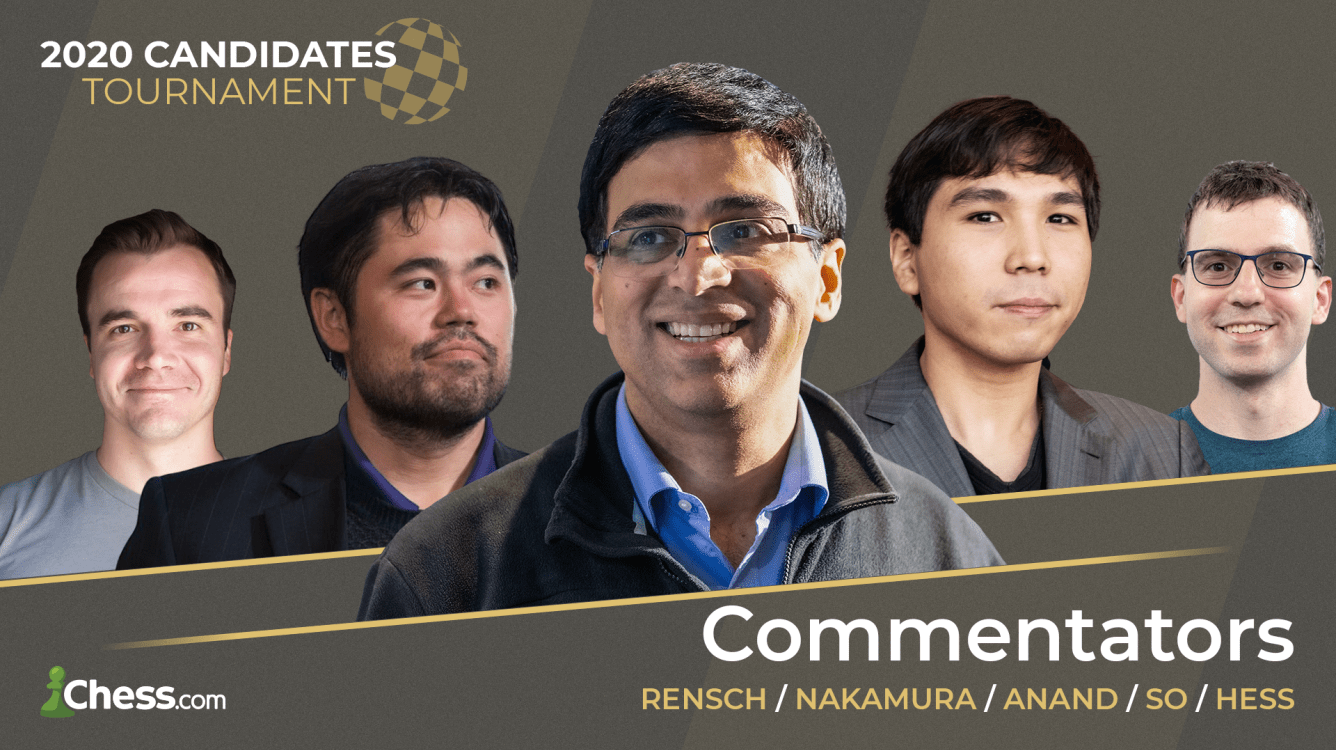 Anand To Debut As Guest Commentator In Chess.com Candidates Live Show