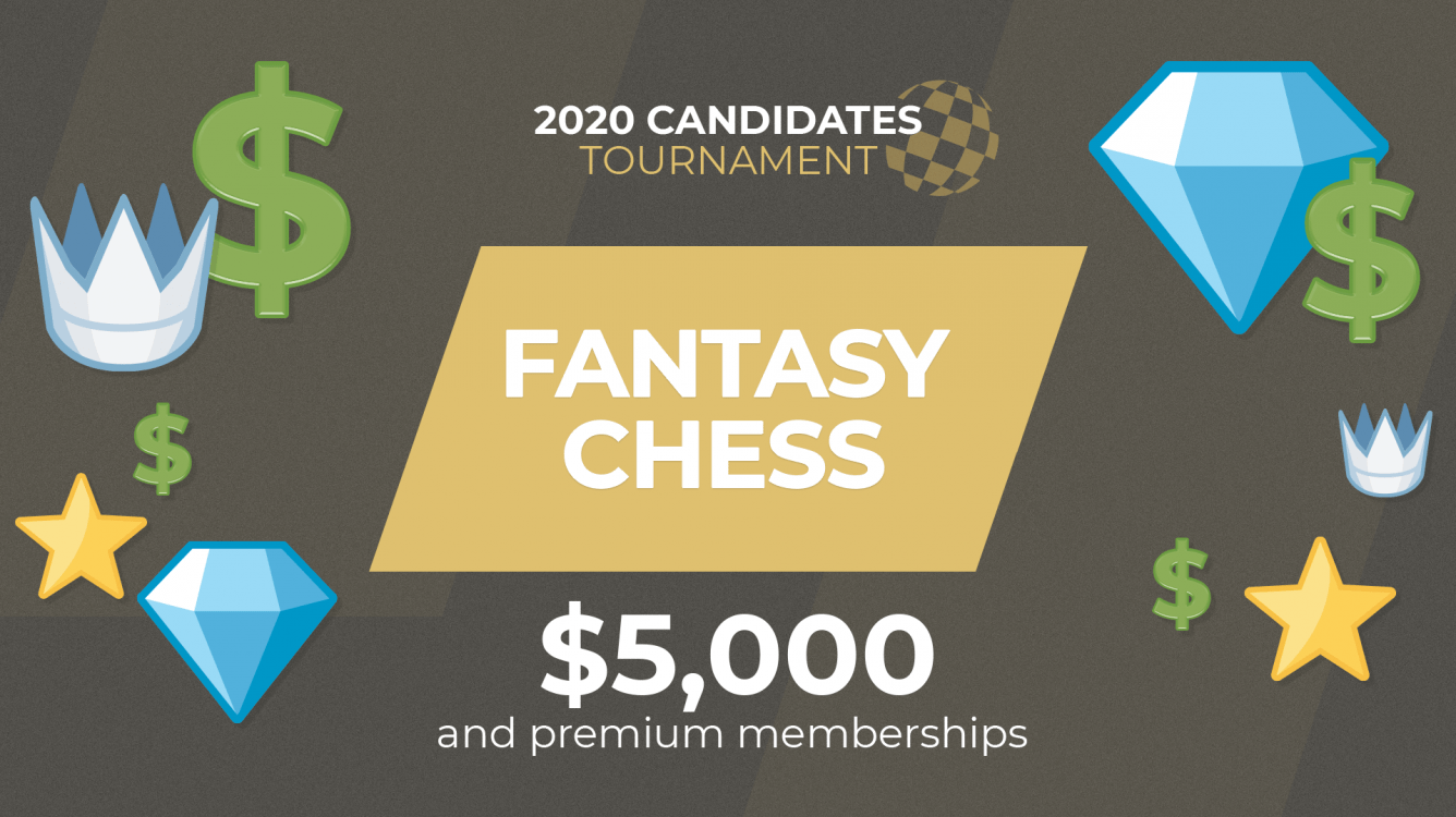 Win Cash Prizes With Chess.com's Candidates Fantasy Contest