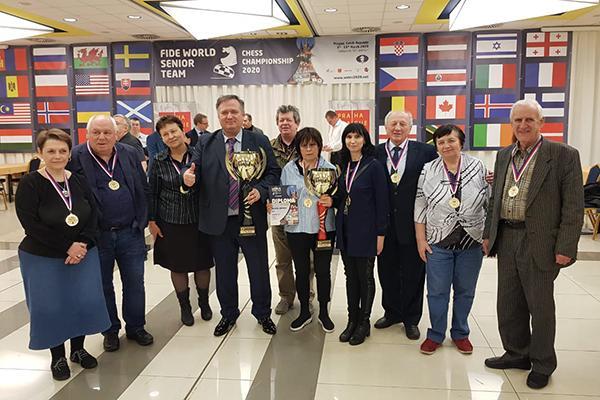 Сборные России и США побеждают на Командном чемпионате мира среди сеньоров