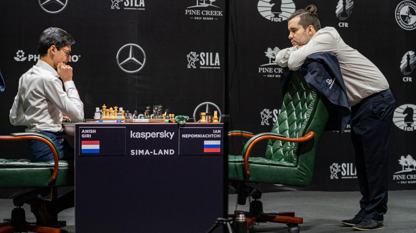 Nepomniachtchi, Wang Seize Early Lead At FIDE Candidates Tournament